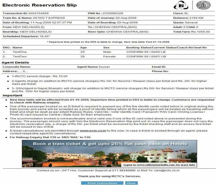IRCTC Login - How to register and book ticket on IRCTC